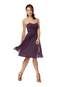 Purple Bridesmaid Dresses | Weddington Way