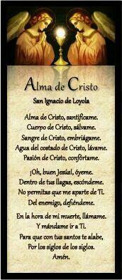 Alma de Cristo.