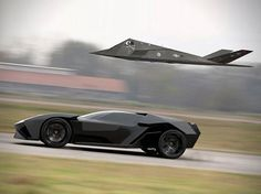 Aggressive Lamborghini Ankonian Concept Car