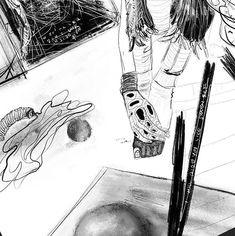 She said... Details XXXV  35/365 #goranhamsic  #projectsotwisted #art #sketch #artemoderna  #artistlife #details  #artlife #canadianartist #poetry #gallery #galeria #montreal #artwork #everyday #arte  #artistsoninstagram #artiste #montrealartist #duality #35 #365 #moodoftheday #drawings #adayinthelife #x  #justsayin  #feet  #toes