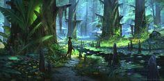 Murkmire -Elder Scrolls Online by Jeremy Fenske | Nature | 2D | CGSociety