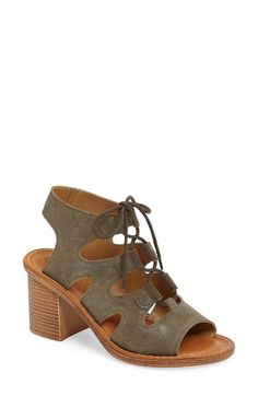 Free shipping and returns on Bella Vita Bre Lace-Up Block Heel Sandal (Women) at Nordstrom.com. Soft suede and a bold stacked heel dress up this trend-right ghillie sandal.