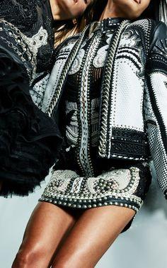 Fitted Mini Shirt Dress  by BALMAIN for Preorder on Moda Operandi