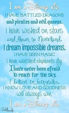 Disney where dreams come true