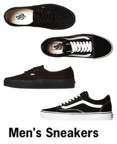 """""""Men's footwear"""" by makeupbawse on Polyvore featuring Vans, men's fashion and menswear"""