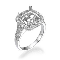 Start by picking out the perfect setting for your Engagement Ring! The details in our designs set the stage for a brilliant center stone of your choice. Engagement Ring Settings, Engagement Rings, Unique Settings, Dream Ring, Fine Jewelry, Stone, Diamond, Detail, Rings For Engagement
