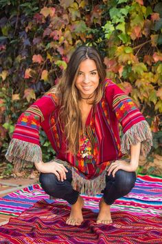 Love how colorful this look is! Boho Style...