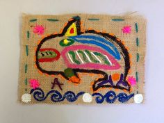 The Blue Horse : Sew What?! 5th grade Stitching