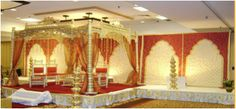 Hindu wedding ceremony involves countless wedding decorations and beautification aspects chosen by would-be-couples and their family members