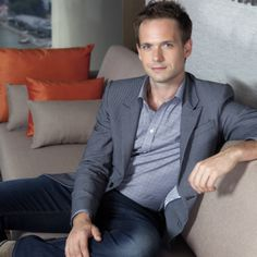 If you ask me. Patrick J. Adams is the perfect combination of hotness and cuteness. :)