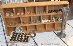Vintage buttons and miscellaneous bits and pieces.....My Salvaged Treasures: The Junk in my Shopping Cart