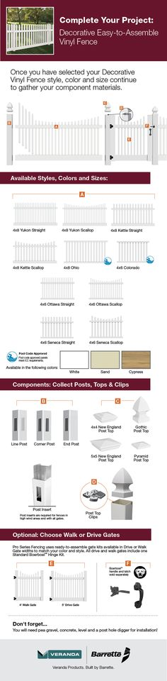 1000 Ideas About White Vinyl Fence On Pinterest Vinyl