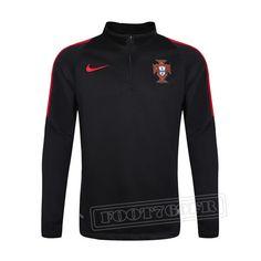Promo:Le Meilleur Du Nouveau Training Zip Sweatshirt Portugal Noir 2016 2017 Slim Personnalise