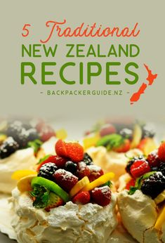 Food is just another way, if not the most popular way, to immerse yourself in a culture. Why not take your New Zealand gap year or backpacking trip to the next level by making some traditional New Zealand recipes? Kiwi Recipes, Crispy Smashed Potatoes, New Zealand Food, Turkey Glaze, Make Ahead Breakfast, International Recipes, Food And Drink, Stuffed Peppers, Caramel