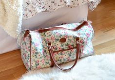 Pretty bags which are big enough for everything to fit into!