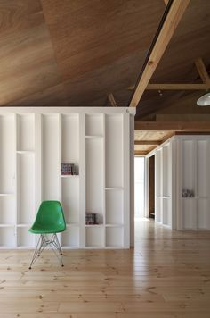 Tass Architects Rico House via Arch Daily | Remodelista--good idea for a wall somewhere.