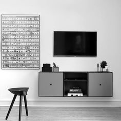 by Lassen Frame Sideboards making the perfect TV Unit! Available in store and in our online boutique. #urbancouturedesigns #danishdesign