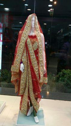 Khada Dupatta - classy Hyderabadi dress