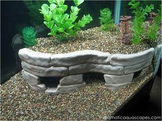 Dramatic AquaScapes - DIY Aquarium Decore - Stone Terraces