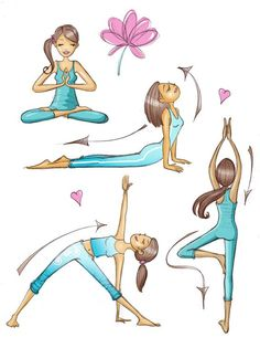 New fitness yoga girls namaste Ideas Yoga Kundalini, Pranayama, Yoga Meditation, Mat Pilates, Pilates Reformer, Yoga Art, My Yoga, Yoga Inspiration, Yoga Kunst