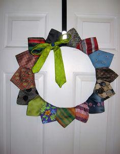 Spring Tie Wreath