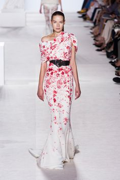 Giambattista Valli Haute Couture Fall 2013 - Runway Dresses We Wish We Could Wear for Valentine's Day - Livingly