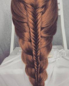 #fryzura #warkocz #kłos #double #braid #fishtail #braidideas #bridehair #weddinghair #braidphotos #instabraids #instahair #hairoftheday #hairstylist #hairblog