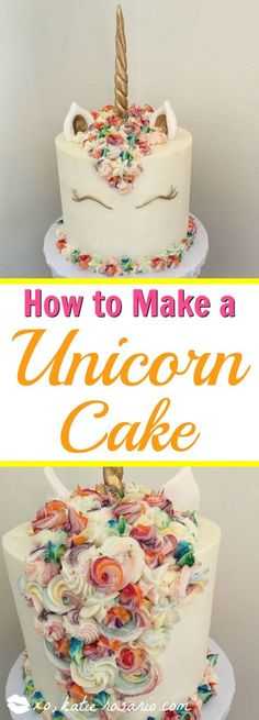 I love unicorn cakes! Omg! There is so much you can do with them! Like all the different colors in the hair! Love it! I cant believe its a cake! Must try for sure!