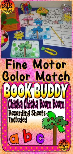 Wonderful Snap Shots math Coloring Sheets Style It's not a key that color guides regarding grown-ups usually are popular these kind of days. Learning Stations, Literacy Stations, Literacy Centers, Preschool Schedule, Kindergarten Centers, Letter Activities, Motor Activities, Tot Trays, Chicka Chicka Boom Boom
