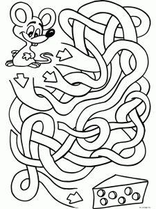 aanimal maze worksheet (2)