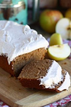 Whole wheat applesauce loaf cake from @Jenna Nelson (Eat, Live, Run)