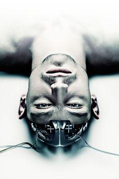 Jack, future, cyberpunk, robot, futuristic, Benedict Campbell, Tech Corridor, cyborg, sci-fi, android, cyborg head, science fiction by FuturisticNews