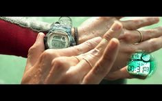 Casio Watch - The Shallows (2016) Movie Scene