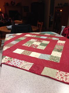 Just a charm pack quilt.