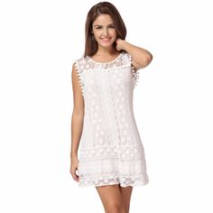 Casual Sleeveless Beach Short Dress //Price: $16.46 & FREE Shipping //    #fashionable #design #accessories #styles #blouses #shirts