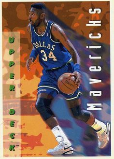 RARE 92/93 UPPER DECK DOUG SMITH DALLAS MAVERICKS MINT #DallasMavericks