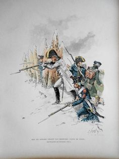 Napoleonic Wars: NEY and GIRARD during the Retreat from Russia (1812) - Colour