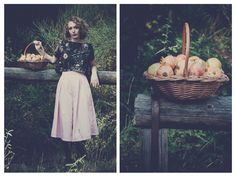 Le Mouton Bleu AW1415''Alice Where Is Your Wonderland?'' Campaign Photo Shoot