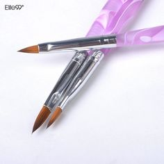 Elite99 Acrylique UV Gel Polonais Peinture Dessin Gravé Stylo Brosse Nail Art Conception Outil Livraison Gratuite