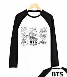 Fanstown BTS bangtan boy black shoulder member cartoon signature long sleeve shirt J-HOPE Jinmin V Rap monster Fanstown-BTS http://www.amazon.com/dp/B00NNGQEZ8/ref=cm_sw_r_pi_dp_6GfDvb1ZEWMGE