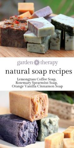 UPDATE: Welcome! This post has been so popular that I thought I might add some of the amazing soap recipes that I have made over the years or that book authors have so graciously shared here. Did you know that there is a whole natural skincare series of posts here on Garden Therapy? From soaps and lotions to bath bombs ...