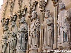 Catedral de Tudela,Navarra España,muestra de arte medieval gotico