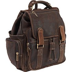 ClaireChase Sierra Laptop Back Pack - Distressed Brown - via eBags.com!