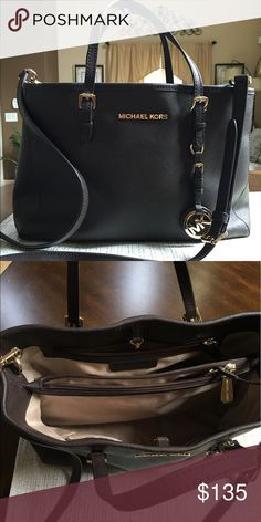 Dark Chocolate MK Purse 100% authentic medium size. Great style for any occasion. Some spot inside otherwise it's in great condition. Michael Kors Bags Totes