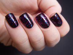 Pretty & Polished PHAT Camp layered over black.