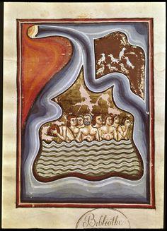 Pietro da Eboli, De Balneis Puteolanis, c. 1250      Biblioteca Angelica, Roma