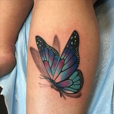 Our Website is the greatest collection of tattoos designs and artists. Search for more Butterfly Tattoo designs. Realistic Butterfly Tattoo, Butterfly Wrist Tattoo, Butterfly Tattoos For Women, Butterfly Tattoo Designs, Colorful Butterfly Tattoo, Butterfly Tattoo Meaning, Butterfly Background, 3d Tattoos, Flower Tattoos