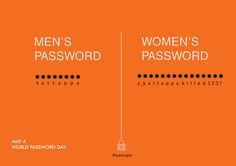 Never ever think that you can guess a password set by a lady...   #capiointeractive #teamcapio #passwordday #may4
