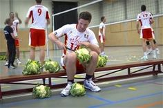 Bloemkool en volleybal (filmpje)