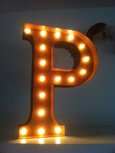 Not necessarily the P, but the marquee thing is cool.
